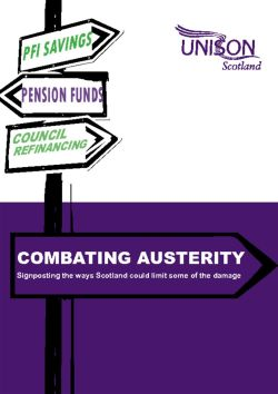 Combating austerity