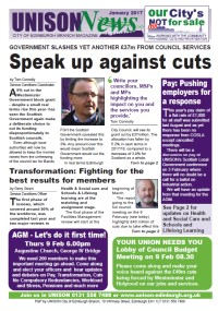 UNISON News January 2017