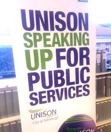 Standing up for public services