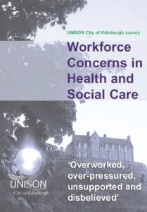UNISON survey shows social care staff overworked and demoralised
