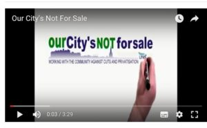 City's Not For Sale video