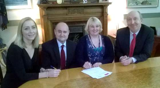 Ethical Care Charter signing