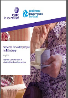 Edinburgh Health and Social Care Inspection response