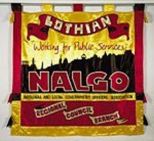 Lothian NALGO banner