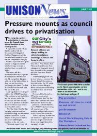 UNISON News June 2011
