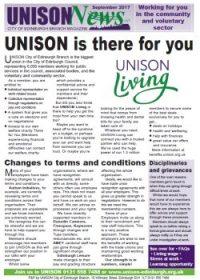 UNISON News for CVS Sept 2017