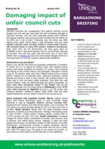 thumbnail of Bargaining-Briefing-Cuts-Impact-Jan-2018