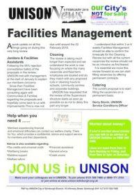thumbnail of Facilities Management Update 9 Feb 2018