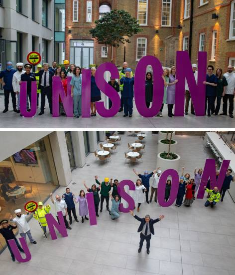 Win prizes with UNISON