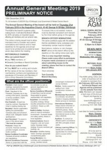 thumbnail of AGM 2019 Preliminary Notice