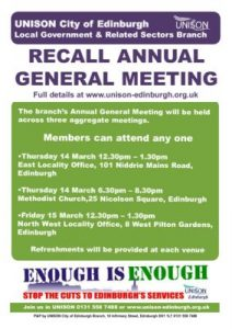 thumbnail of AGM Recall Poster