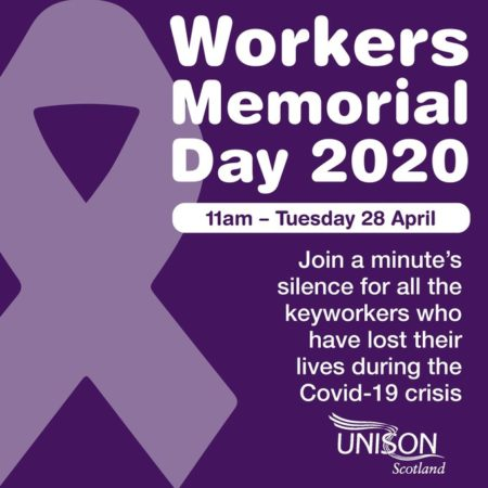 Workers' Memorial Day 2020