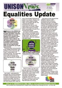 thumbnail of Equalites Newsletter July