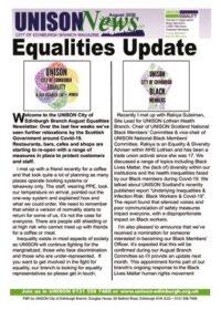 thumbnail of Equalites Newsletter August