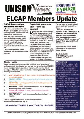 thumbnail of ELCAP Newsletter Feb 2021