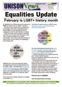 thumbnail of Equalites Newsletter February 2021
