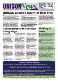 thumbnail of UNISON News 16 February 2021
