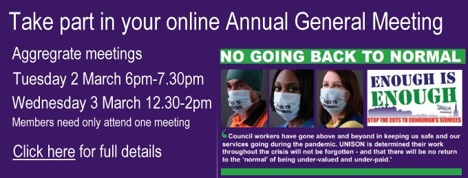 Take part in your AGM