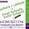 Clean Schools, Safer Schools Facebook Live Event