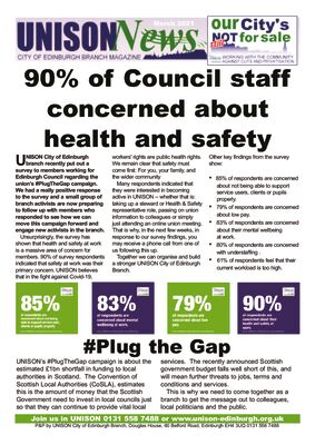thumbnail of UNISON News Plug the Gap