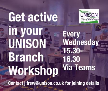 UNISON Workshop Sessions
