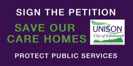 Save Our Care Homes - Sign the petition