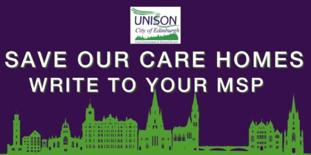 Save our care homes - write to your MSP
