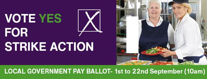 Pay ballot