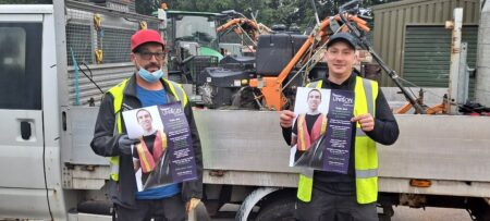 Members support our pay campaign