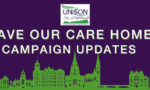 Care home campaign updates